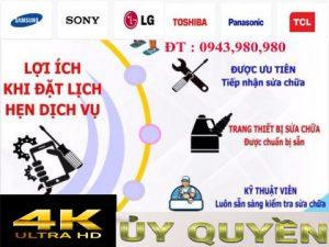 Địa chỉ sửa tivi 4k chuyên nghiệp