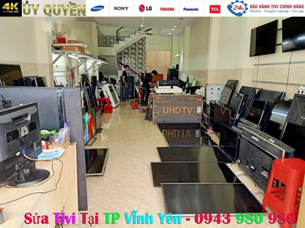 Trung tâm sửa tivi 4k tại Thành Phố Vĩnh yên
